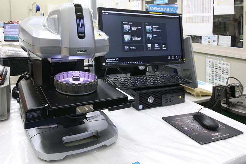 ワンショット3D形状測定機
