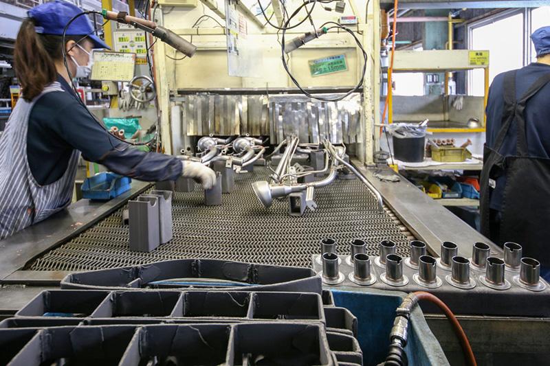 ブレージング炉(巾1000mm×高300mm)