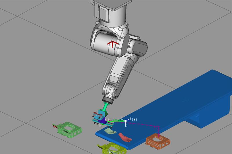 ロボットシミュレーション